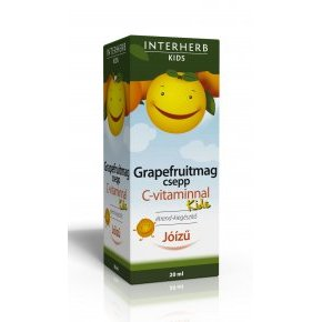 Interherb Vital Grapefruitmag csepp Kids C-vitaminnal