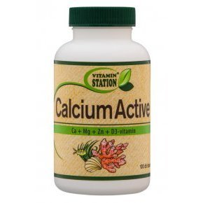 Vitamin Station Calcium Active  tabletta