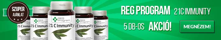 Reg Program 21C Immunity - 5db-os akció!