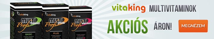 Vitaking multivitaminok akci�s �ron!